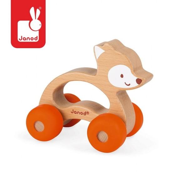 Lisek pojazd Baby Pop, Janod