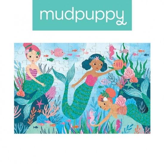 Mudpuppy Puzzle z brokatem...