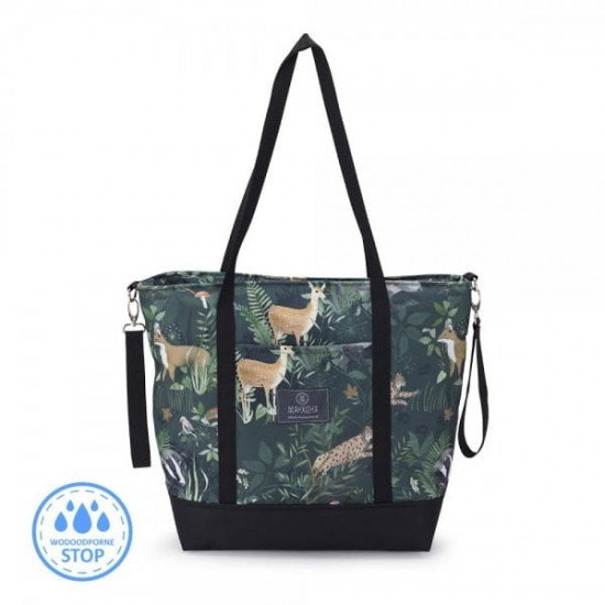 MAKASZKA, Shopper Bag Woodland
