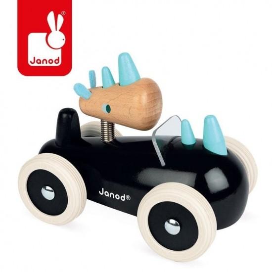 Drewniany samochód w stylu...