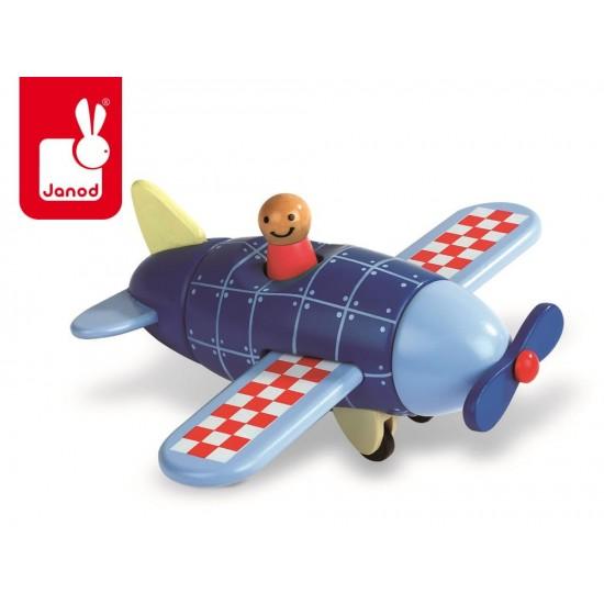 Samolot drewniany...
