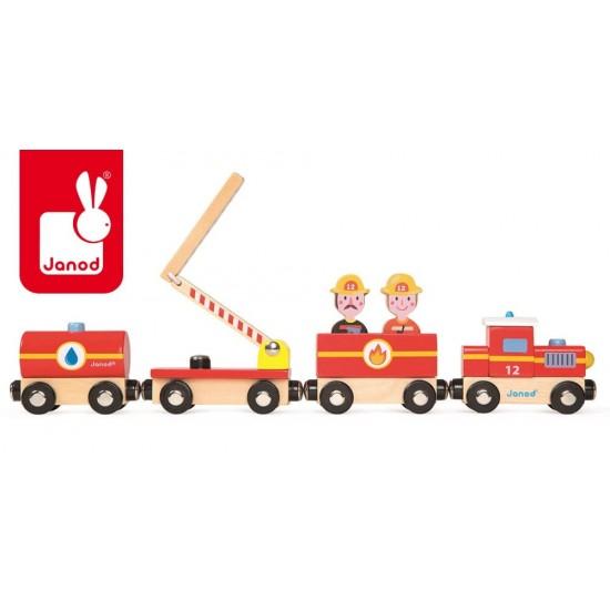Straż pożarna pociąg...