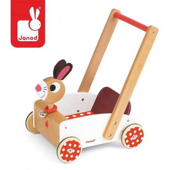 Szalony królik wózek...