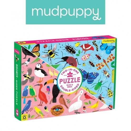 Mudpuppy Puzzle dwustronne...
