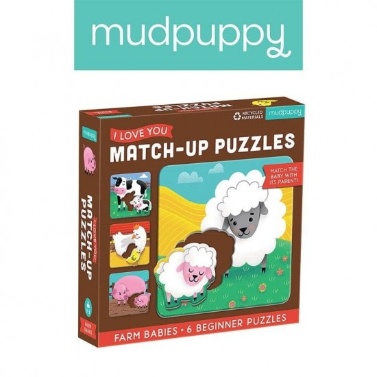 Mudpuppy Pierwsze puzzle I...