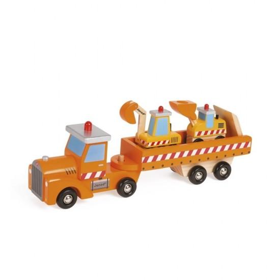 Ciężarówka na budowie,...