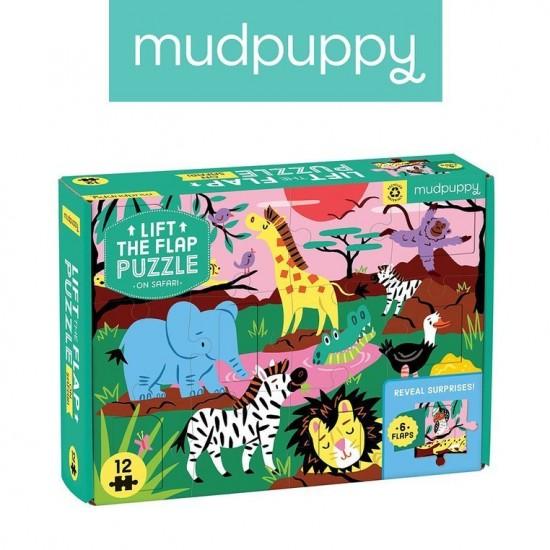 Mudpuppy Puzzle z okienkami...