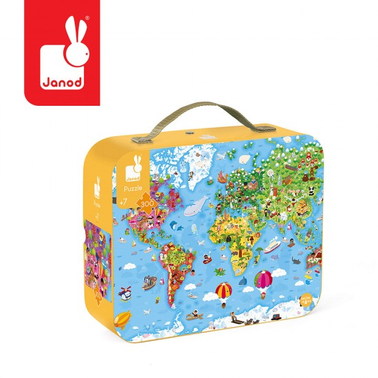 Puzzle w walizce Ogromna...