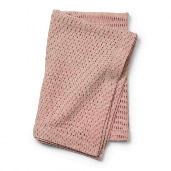 Elodie Details  Kocyk tkany  Powder Pink