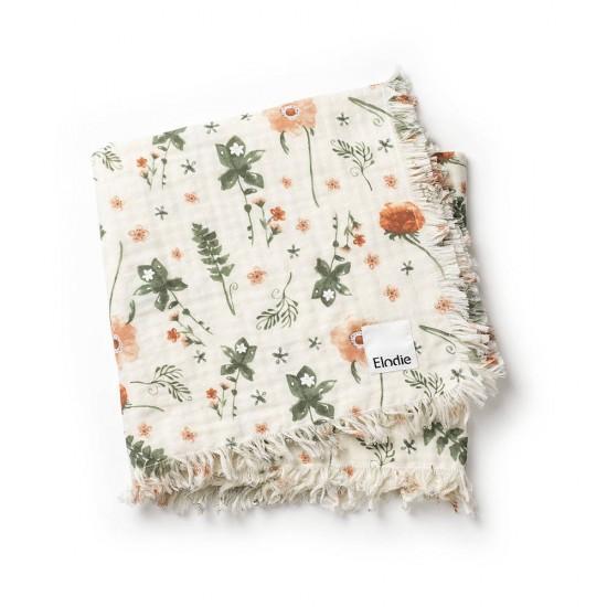 Elodie Details  Kocyk bawełniany  Meadow Blossom