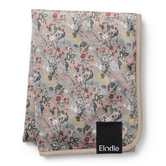 Elodie Details  Kocyk Pearl Velvet  Vintage Flower