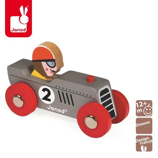 Wyścigówka drewniana...