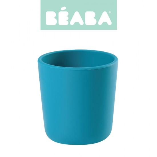 Beaba Silikonowy kubek blue