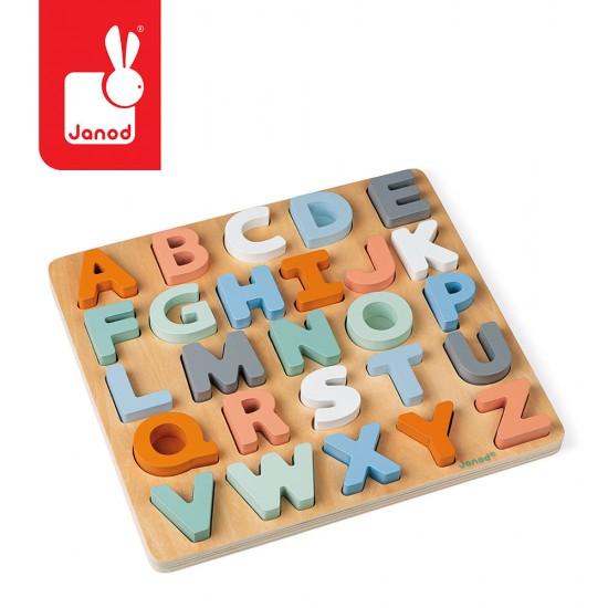 JANOD, Drewniane puzzle...